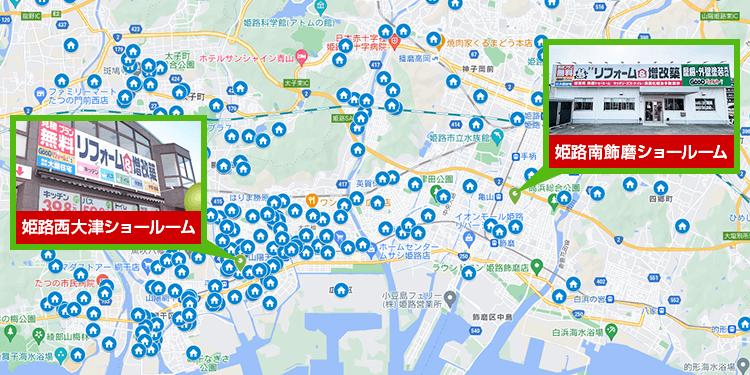 兵庫県エリア地図