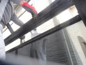 外壁塗装 ポリカ復旧 樋掃除
