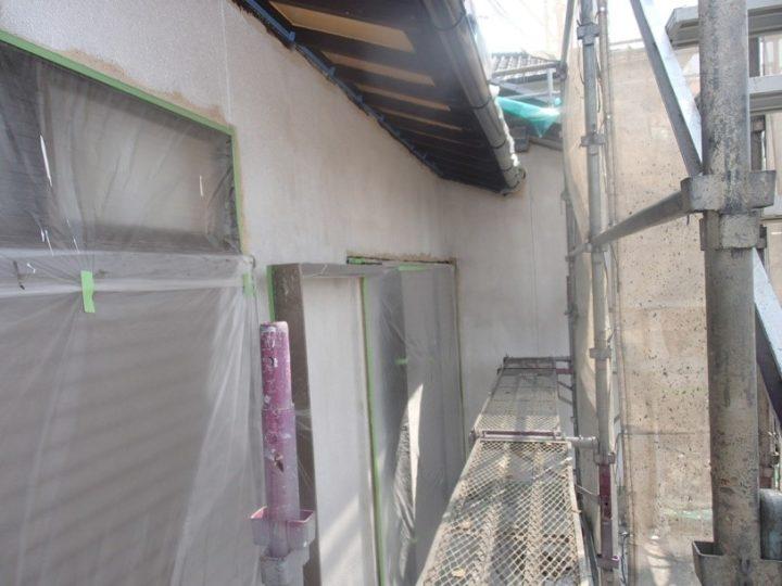 外壁塗装 -下塗り-