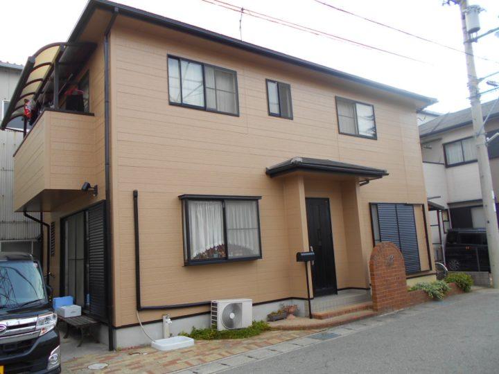 姫路市東山の外壁塗装リフォーム