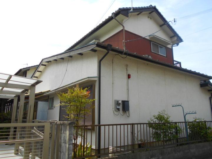 姫路市広畑区の外壁塗装・屋根塗装リフォーム (施工中)