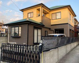 姫路市飾磨区 外壁塗装・屋根塗装リフォ―ム