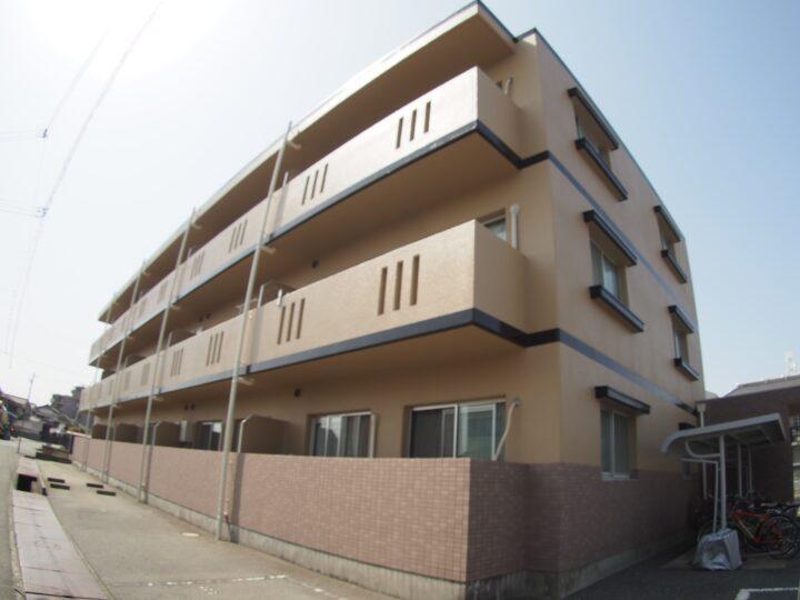 姫路市飾磨区 マンション外壁塗装・屋上防水リフォーム