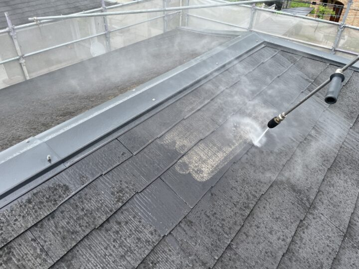 高圧洗浄(屋根)
