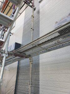 外壁塗装工事 上塗り