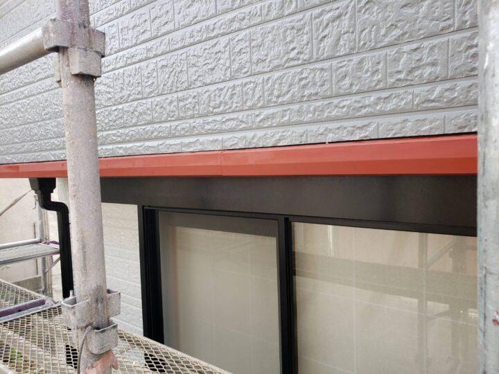 樋や水切り塗装