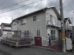外壁塗装・屋根工事 着工