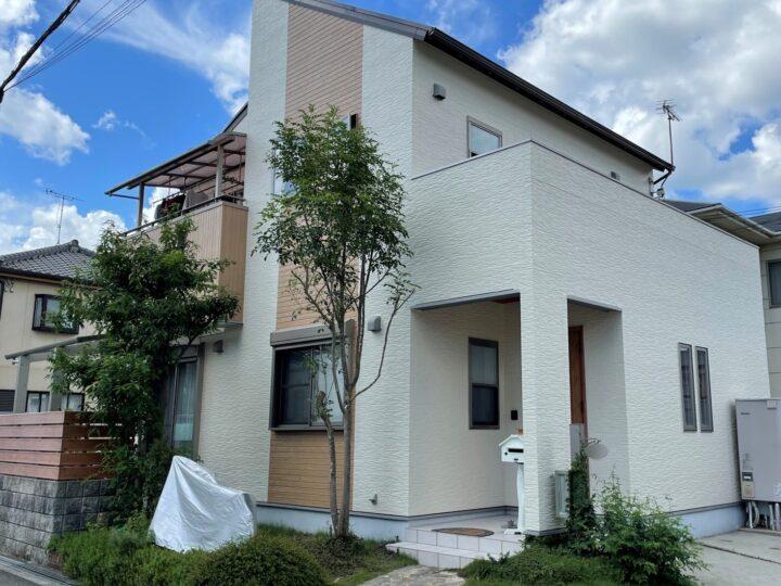 施工事例71 太子町 外壁塗装リフォーム