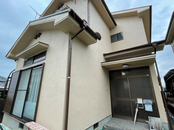 施工事例66 姫路市網干区 外壁塗装・屋根塗装・トイレ取替・洗面化粧台取替リフォーム